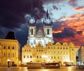 Tourist attraction in Prague Stock Photo 08