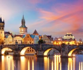 Tourist attraction in Prague Stock Photo 09