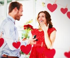 Valentine's surprise Stock Photo 05