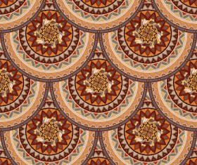 Vintage floral texture pattern vectors 03