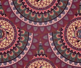 Vintage floral texture pattern vectors 04