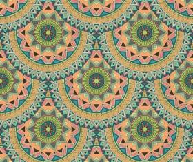 Vintage floral texture pattern vectors 07