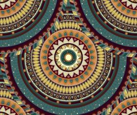 Vintage floral texture pattern vectors 08