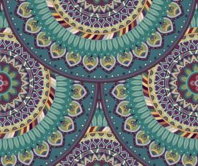 Vintage floral texture pattern vectors 09