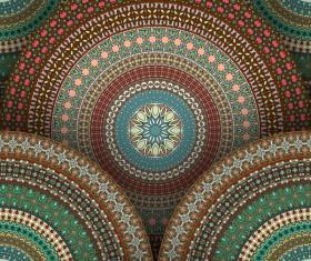 Vintage floral texture pattern vectors 12