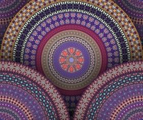 Vintage floral texture pattern vectors 13