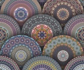 Vintage floral texture pattern vectors 14