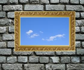 Wall holes to freedom Stock Photo 05