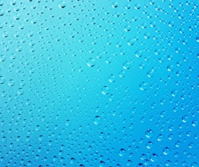 Water Drops Background Stock Photo 05