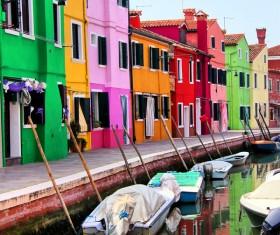 Water city of Venice Stock Photo 08