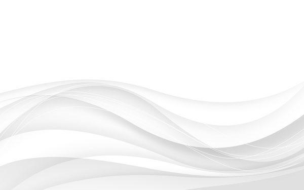 White Abstract Background With Wave Vector Illustration 01