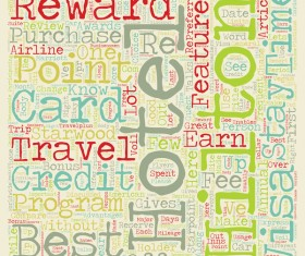 Why It Is Important To Have A Hotel Rewards Credit Card text background wordcloud vector