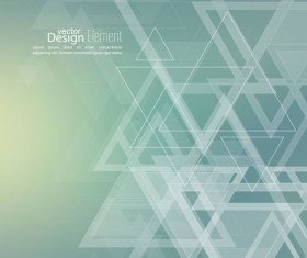Abstract triangle with blurred background vector 09