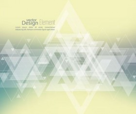 Abstract triangle with blurred background vector 10