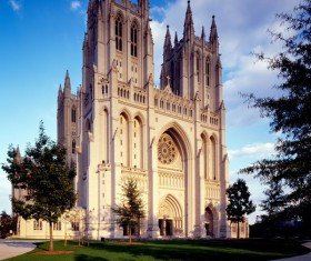 American National Cathedral Stock Photo