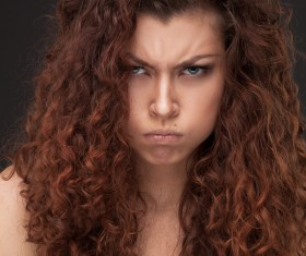 Angry woman HD picture