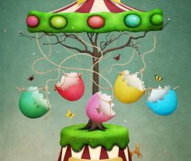 Art background Spring Stock Photo 04