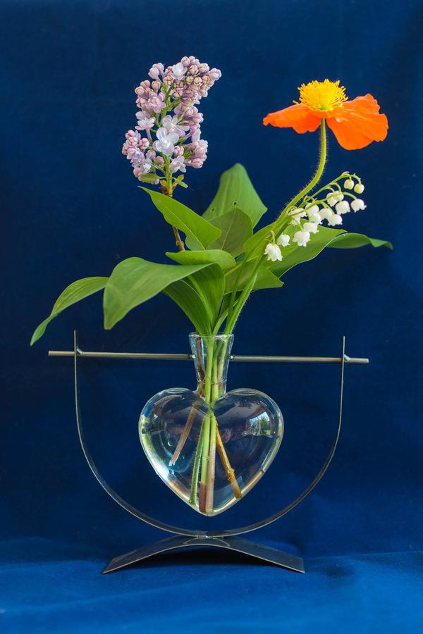Art Flower Vase Flower Arrangement Stock Photo Free Download