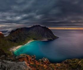 Beautiful bay sunrise HD picture
