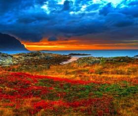 Beautiful dusk HD picture