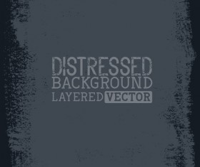 Black grunge background layered vector 03