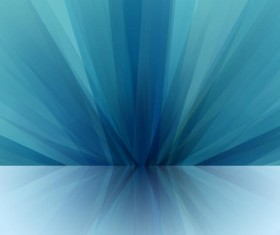 Blue visual impact abstract background vector