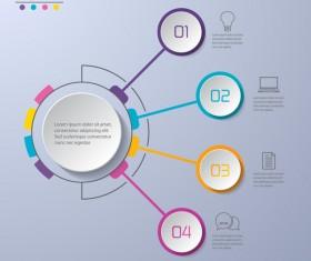 Business Infographic creative design 4620