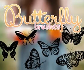 Butterflies PS brushes
