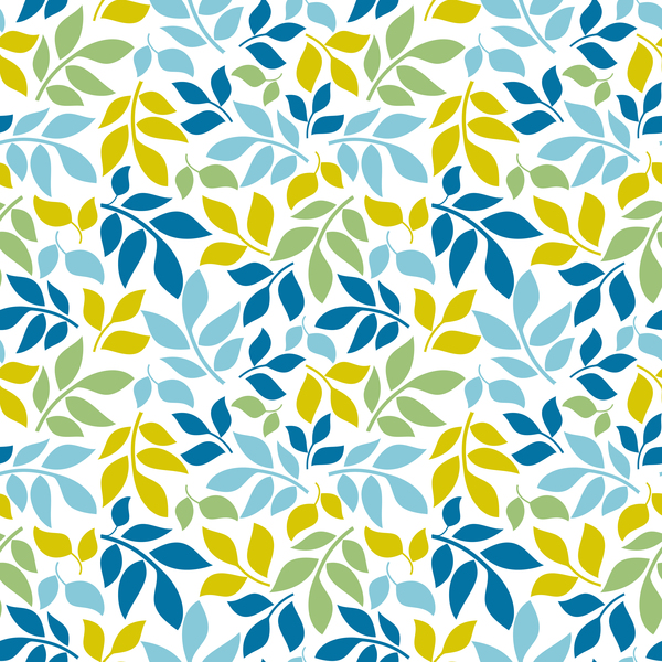 Cartoon leaf seamless pattern vector - Vector Cartoon ...