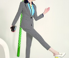 Casual wear woman Stock Photo