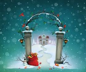 Christmas atmosphere Stock Photo