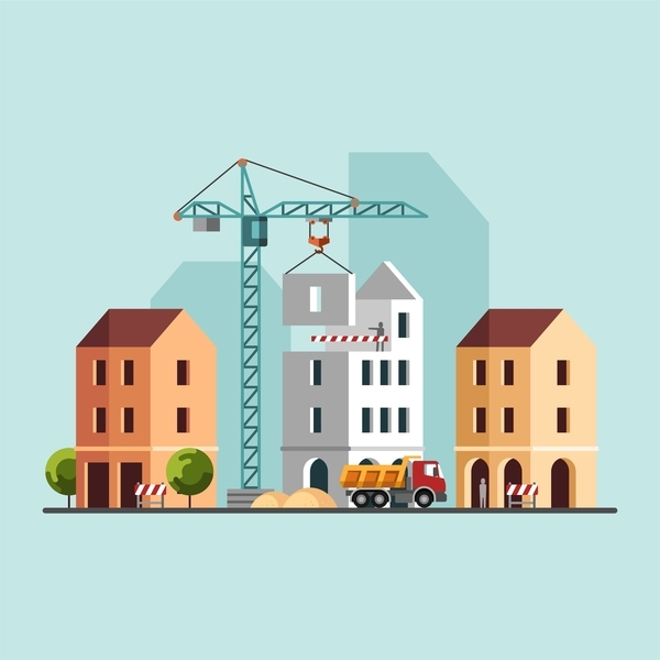 Construction Building Vector | www.pixshark.com - Images ...