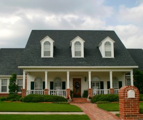 Classic style house Stock Photo 11