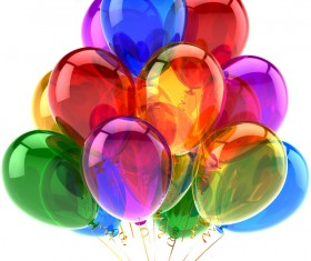 Colored balloons HD picture 01