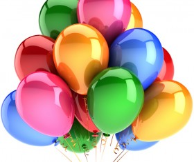 Colored balloons HD picture 02