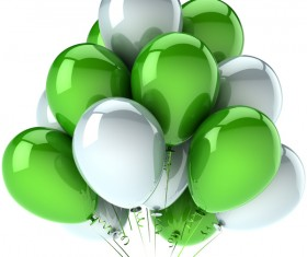 Colored balloons HD picture 03