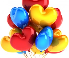 Colored balloons HD picture 06