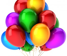 Colored balloons HD picture 08