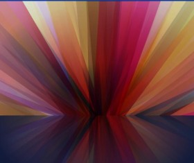 Colorful visual impact abstract background vector