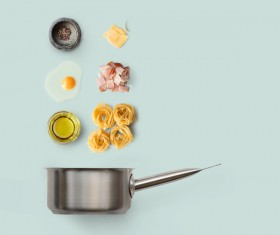 Cooking ingredients for Italian food Stock Photo 11