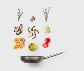 Cooking ingredients for Italian food Stock Photo 13