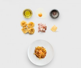 Cooking ingredients for Italian food Stock Photo 14