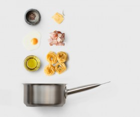 Cooking ingredients for Italian food Stock Photo 15