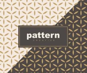 Creative golden seamless pattern vector 04