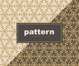 Creative golden seamless pattern vector 05