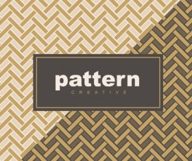 Creative golden seamless pattern vector 14