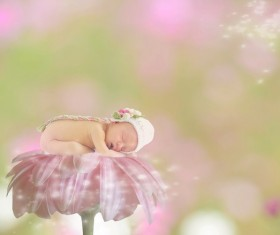 Cute baby art photo HD picture
