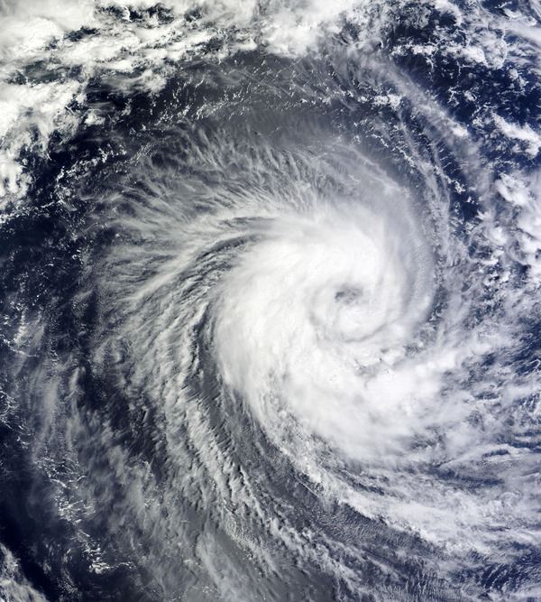 Cyclone cloud system Stock Photo 10