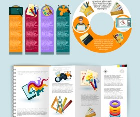 Design infographic vectors template