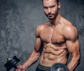 Exercise the perfect muscle Stock Photo 01